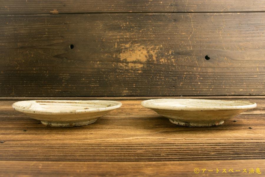 画像3: 工藤和彦「ふち白樺刷毛目5寸皿」