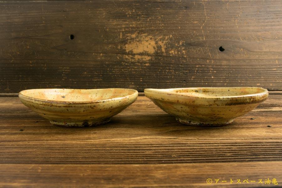 画像3: 工藤和彦「黄粉引5寸たわみ鉢」