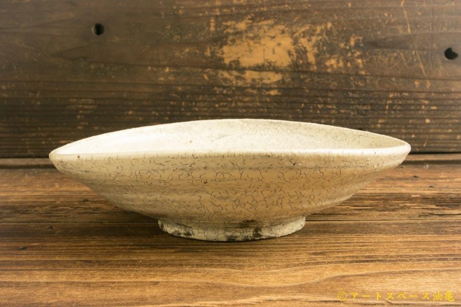 画像3: 工藤和彦「白樺ホワイト たわみ中鉢」