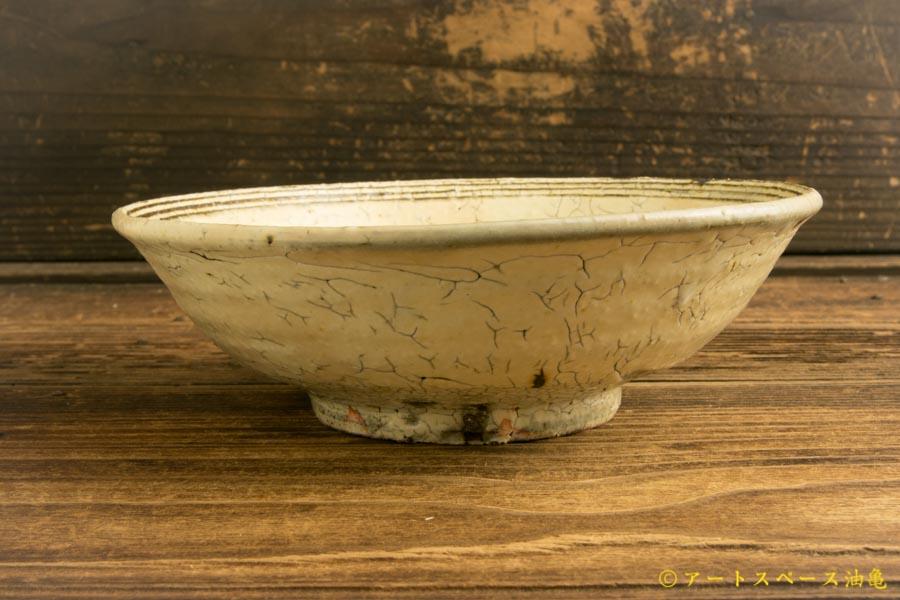 画像3: 工藤和彦「白樺ホワイトふち刻線平鉢」