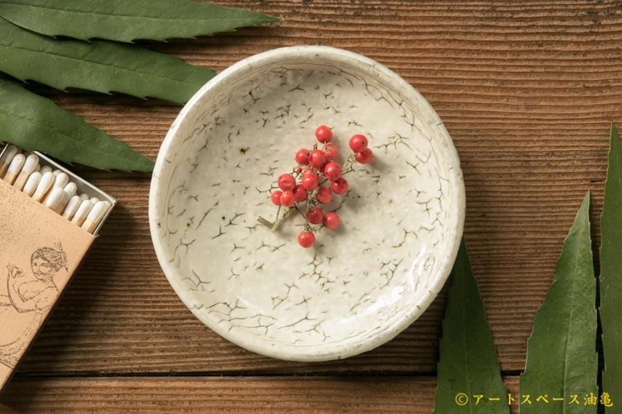 画像1: 工藤和彦  白樺ホワイト豆皿
