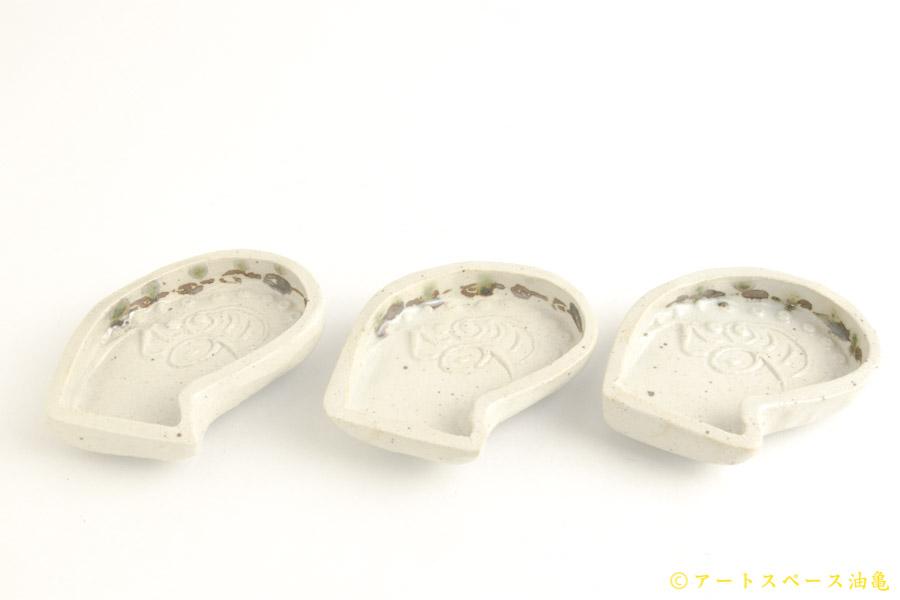 画像3: 須賀文子「イカ豆皿」