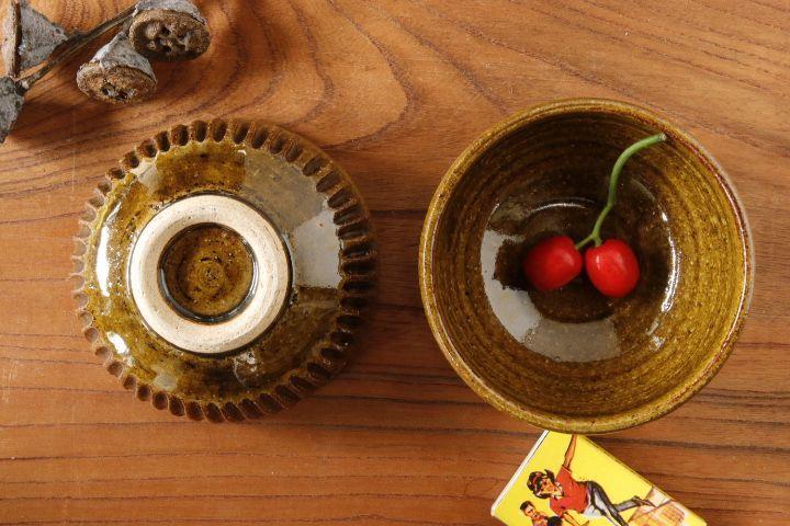 画像1: 益子淳一「アメしのぎ豆鉢」【油亀限定作品】【アソート作品】