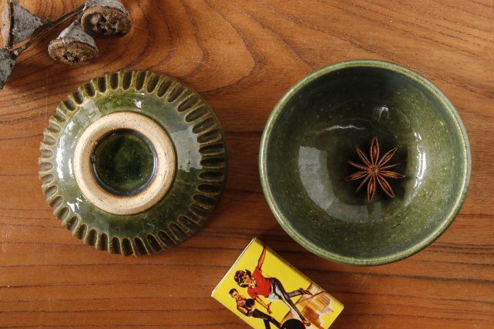 画像1: 益子淳一「オリベしのぎ豆鉢」【油亀限定作品】