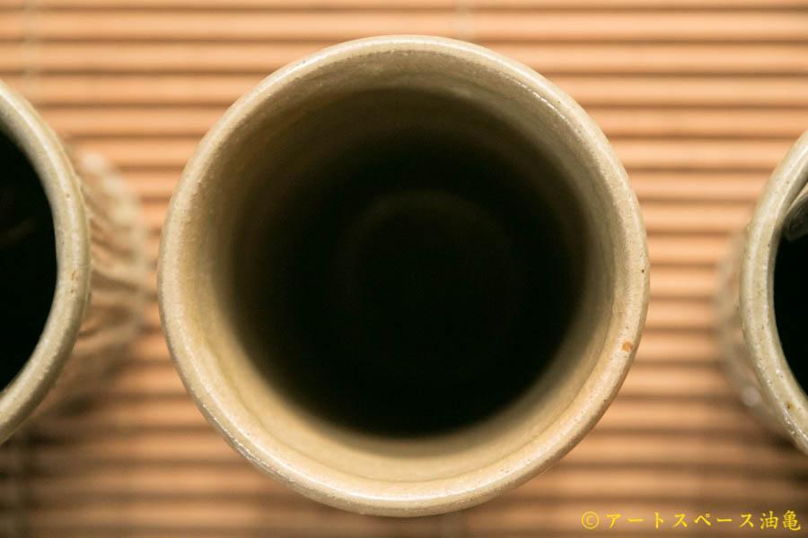 画像4: 益子淳一 灰釉カトラリースタンド(大)【油亀限定作品】【アソート作品】