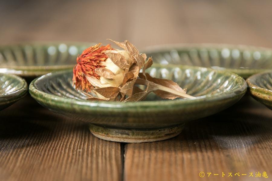 画像3: 益子淳一「オリベしのぎ三寸皿」【油亀限定作品】