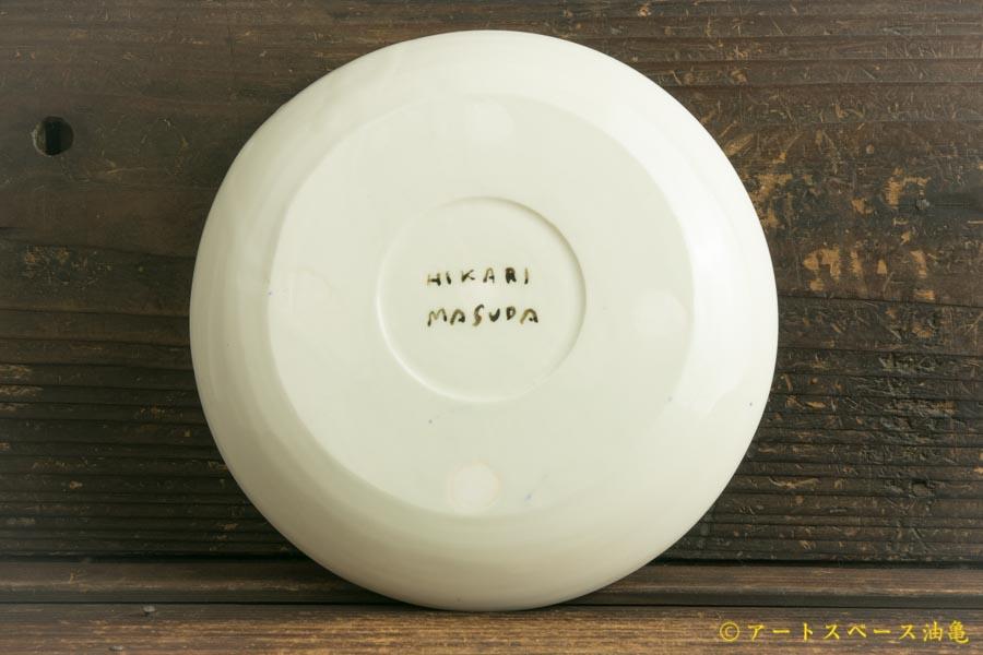 画像2: 増田光「青動物皿」