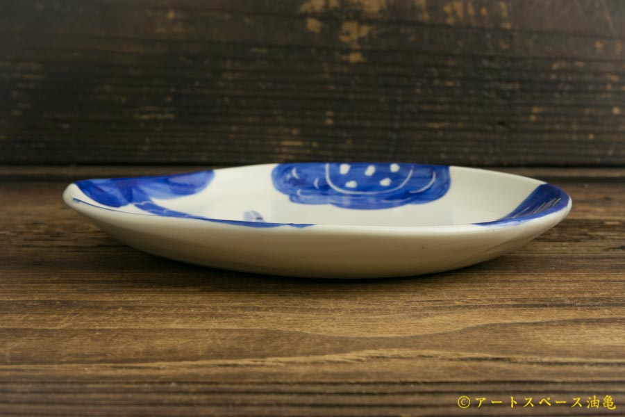 画像3: 増田光「青動物皿」