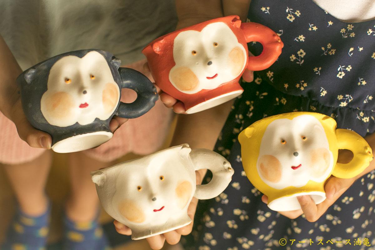 アートスペース油亀企画展 増田光のうつわ展「さまざまないき様」より