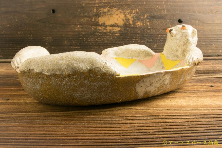 画像2: 増田光「ラッコ皿」