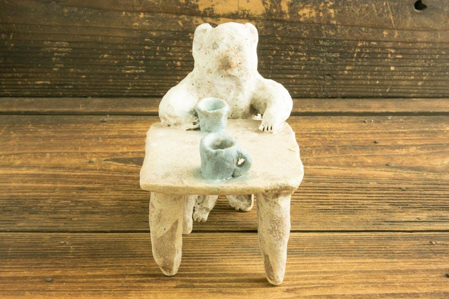 画像1: 増田光「茶のみともだち(テーブル)」