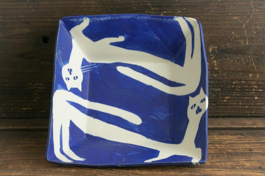 画像1: 増田光「青白角鉢」