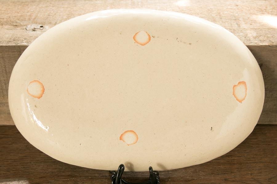 画像2: 増田光 白黒長楕円皿 イヌ