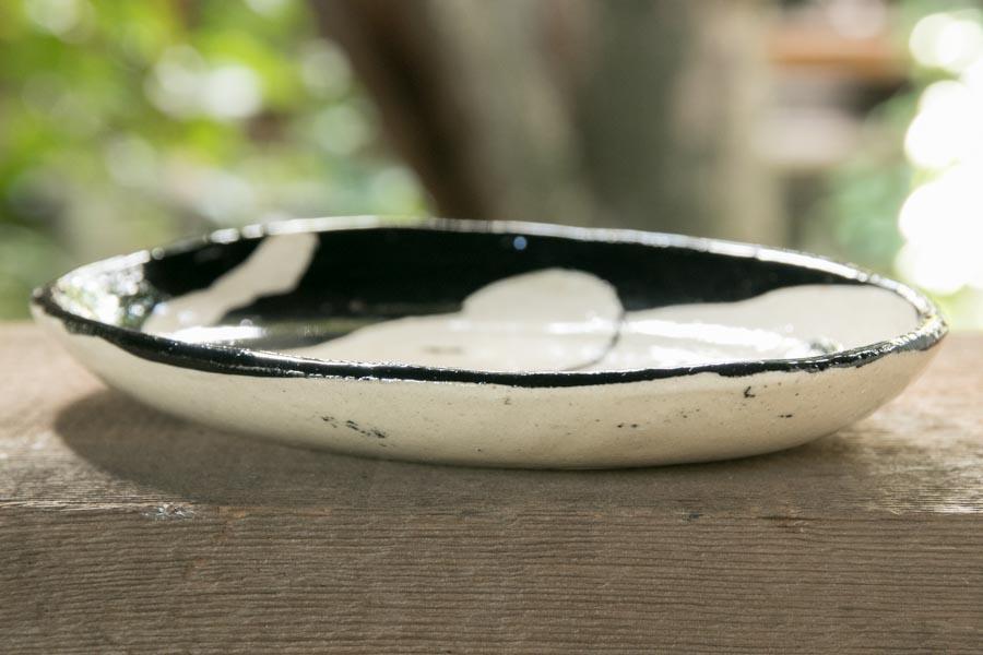 画像4: 増田光 白黒楕円皿(小)ゾウ