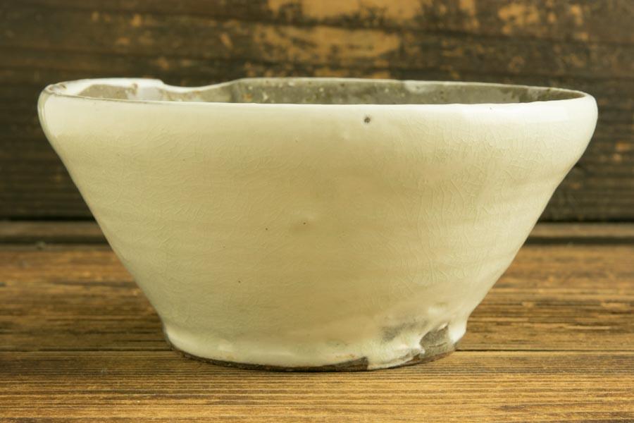 画像3: 馬渡新平 フルーツ粉引き すり鉢5寸