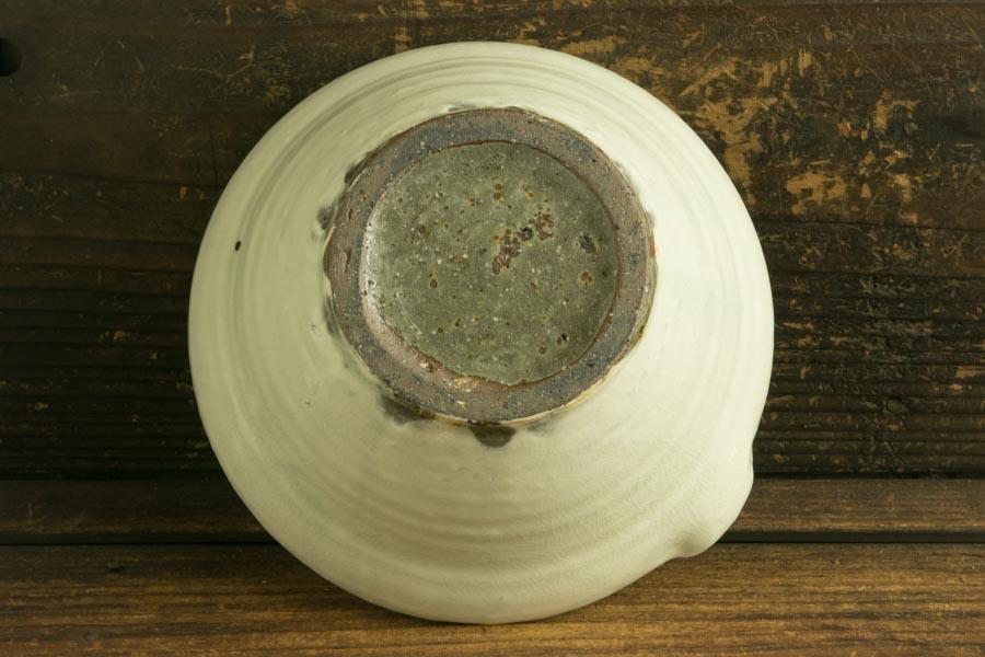 画像5: 馬渡新平 フルーツ粉引き すり鉢5寸