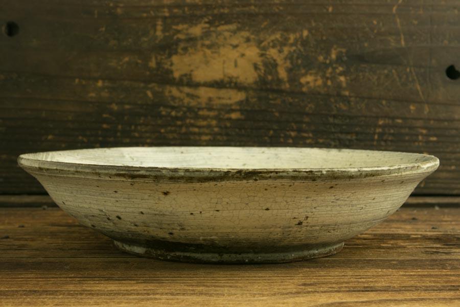 画像3: 馬渡新平 刷毛目白 カレー皿
