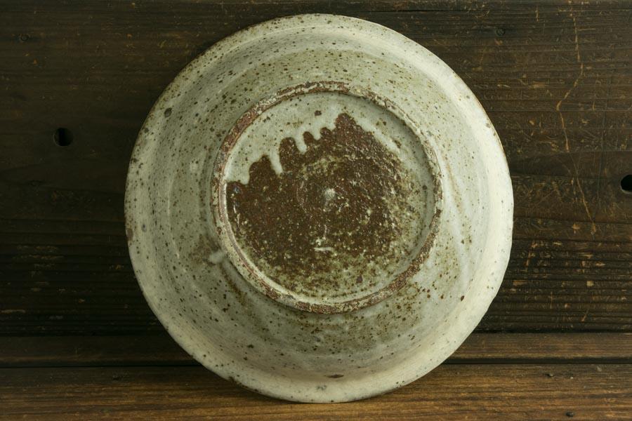 画像2: 馬渡新平 刷毛目 カレー皿7.5寸