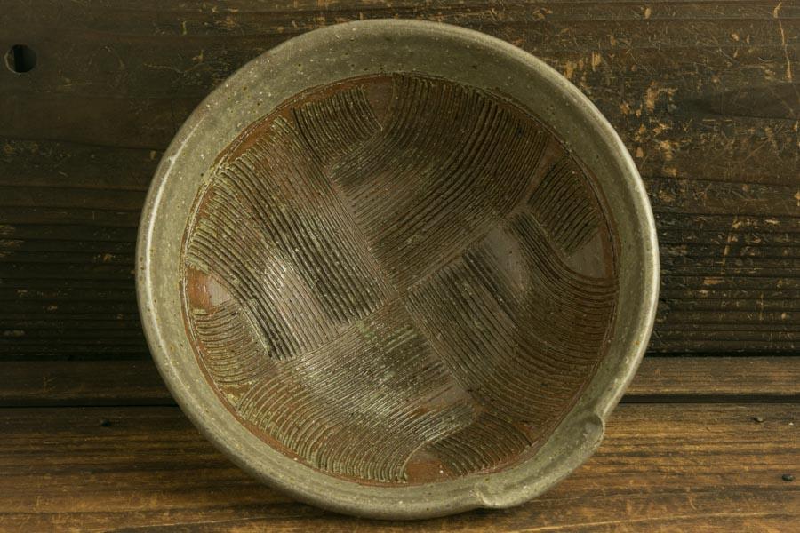 画像2: 馬渡新平「フルーツオリーブ すり鉢6寸」