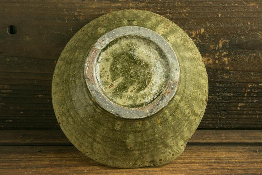 画像5: 馬渡新平「フルーツ緑灰釉 すり鉢6寸」