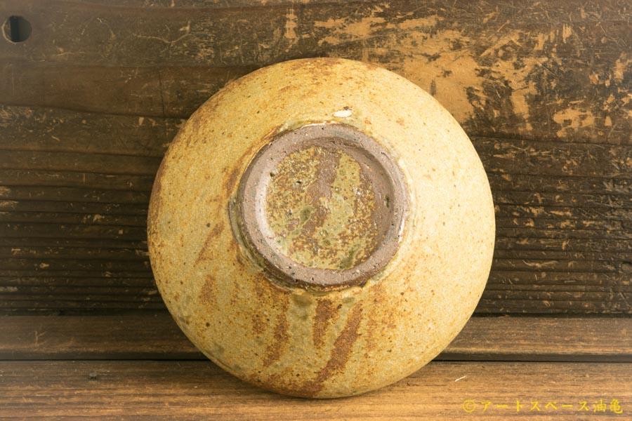 画像5: 馬渡新平 ヒビ粉引き 丸鉢4.5寸