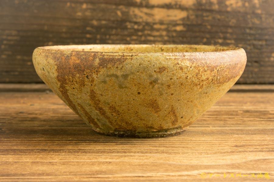 画像3: 馬渡新平 ヒビ粉引き 丸鉢4.5寸