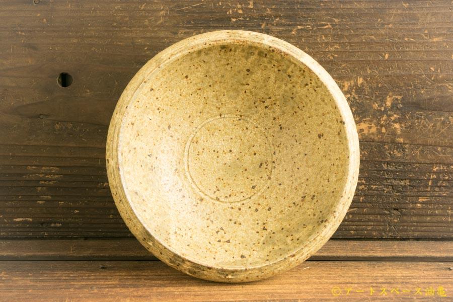 画像4: 馬渡新平 ヒビ粉引き 丸鉢6寸