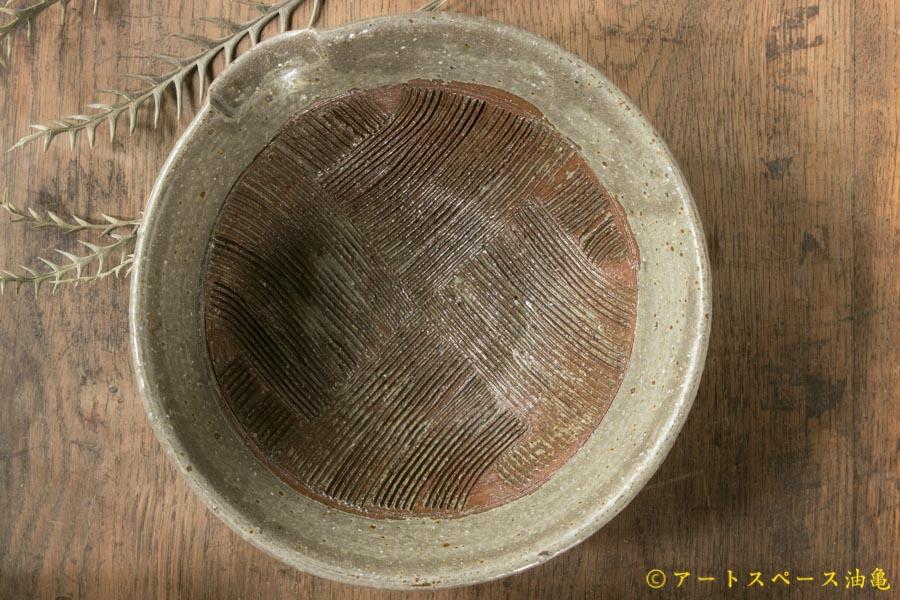 画像2: 馬渡新平 フルーツオリーブ すり鉢6寸