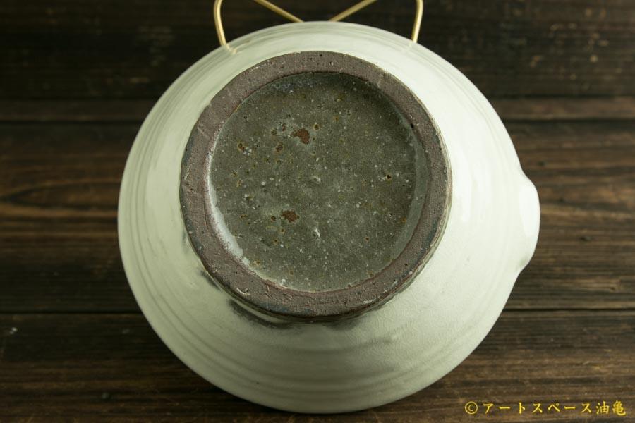 画像4: 馬渡新平「フルーツ粉引 すり鉢6寸」