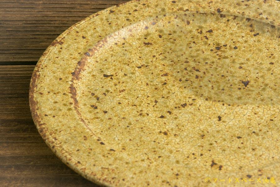 画像4: 馬渡新平「ヒビ粉引 リム皿6.5寸」