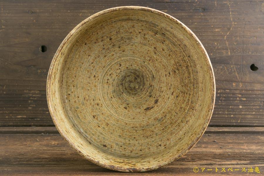 画像3: 馬渡新平「刷毛目 平鉢(深)6寸」
