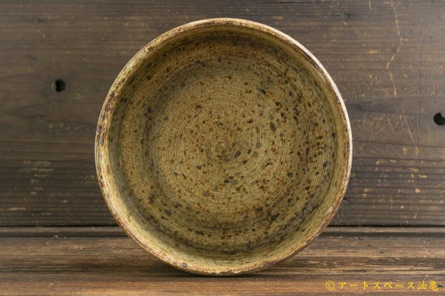 画像3: 馬渡新平「刷毛目 平鉢(深)5寸」