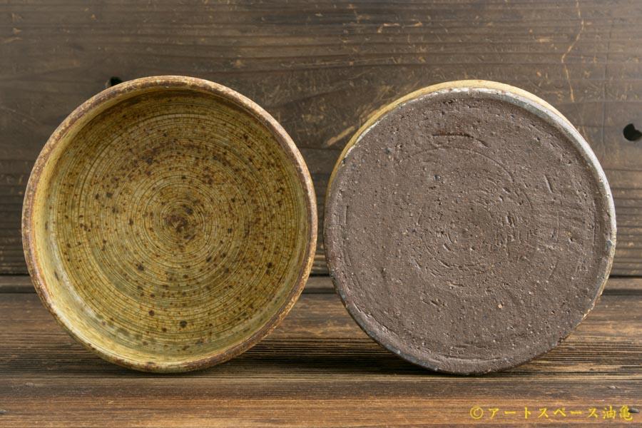 画像3: 馬渡新平「刷毛目 平鉢4.5寸」