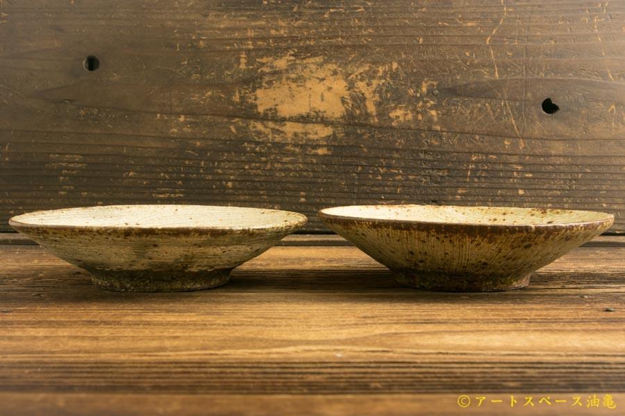 画像2: 馬渡新平「刷毛目 皿5寸」