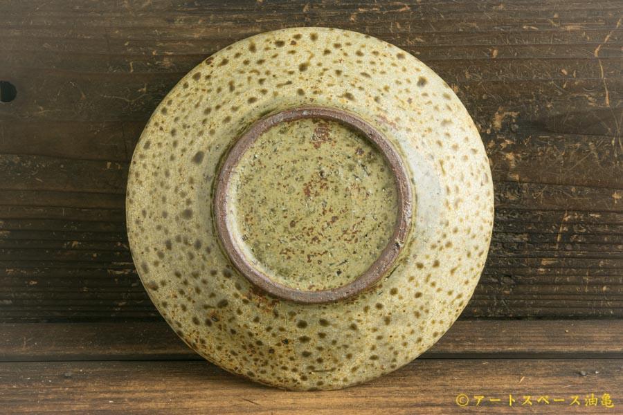 画像4: 馬渡新平「ヒビ粉引き 皿6寸」