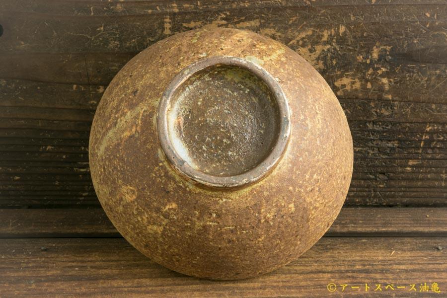 画像5: 馬渡新平「ヒビ粉引き 平鉢6寸」