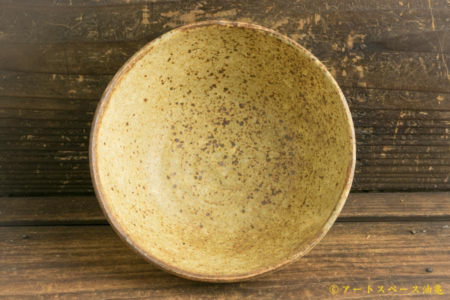 画像4: 馬渡新平「ヒビ粉引き 平鉢6寸」