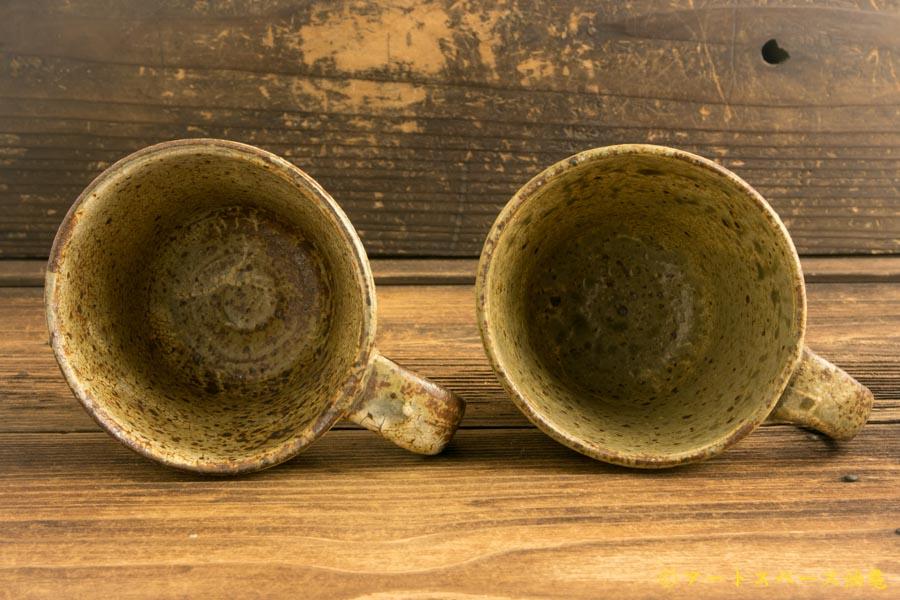画像4: 馬渡新平「ヒビ粉引き マグカップ」