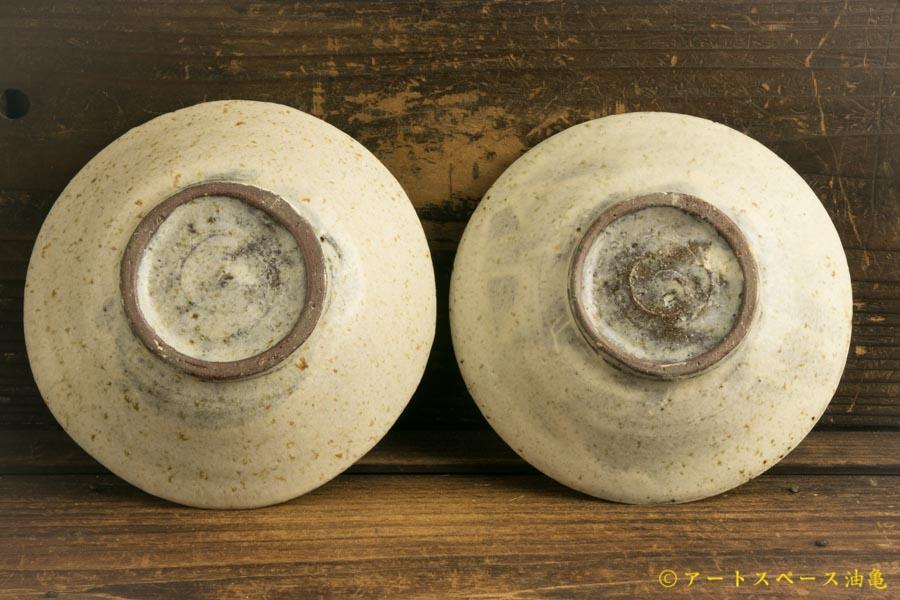 画像3: 馬渡新平「フルーツ灰刷毛目皿 5寸」
