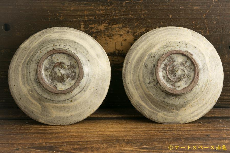 画像4: 馬渡新平「フルーツ灰刷毛目皿5寸」