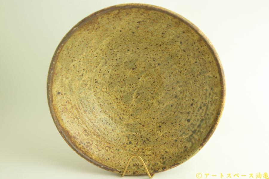 画像4: 馬渡新平「ヒビ粉引き 丸鉢8寸」