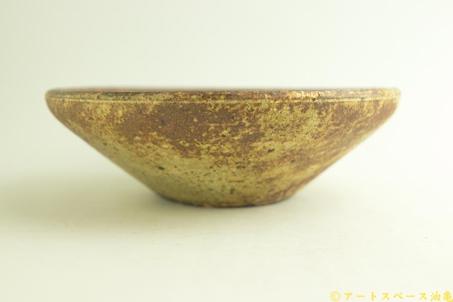 画像3: 馬渡新平「ヒビ粉引き 丸鉢8寸」
