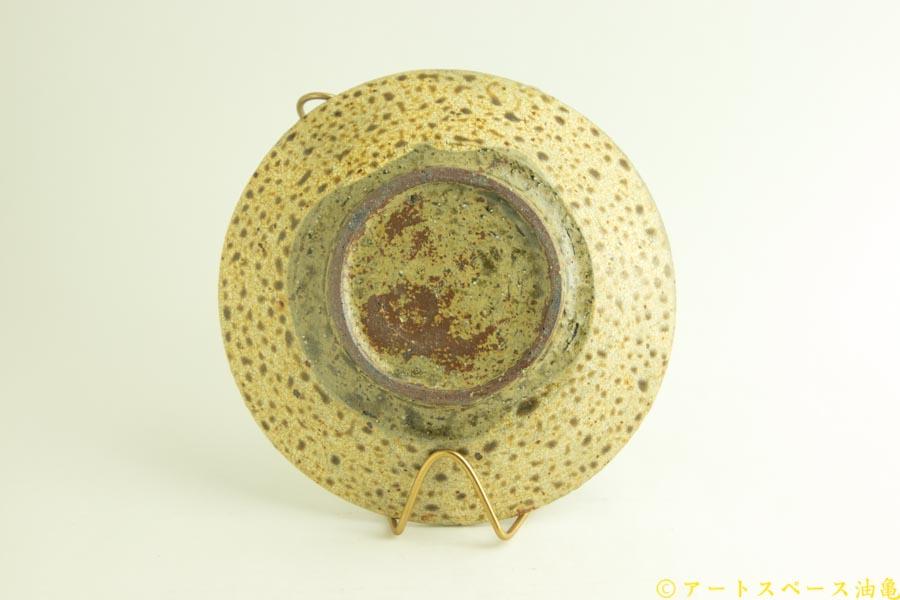 画像5: 馬渡新平「ヒビ粉引き 6寸皿」