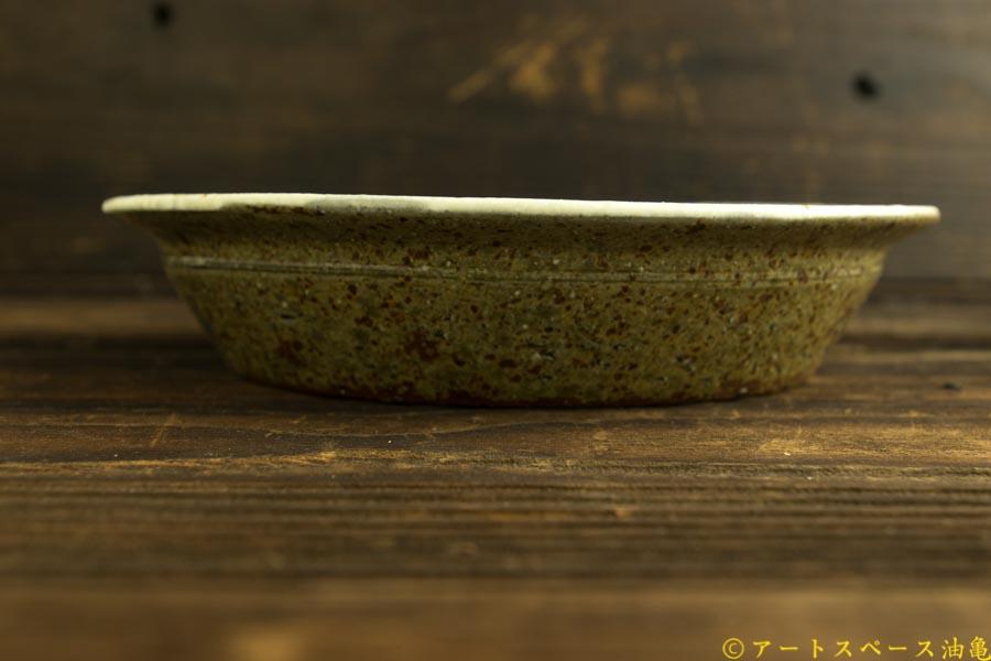 画像4: 馬渡新平「粉引き リム鉢7寸」