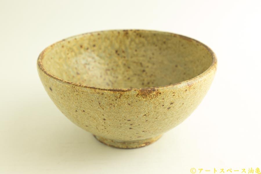画像2: 馬渡新平「ヒビ粉引き 丼」