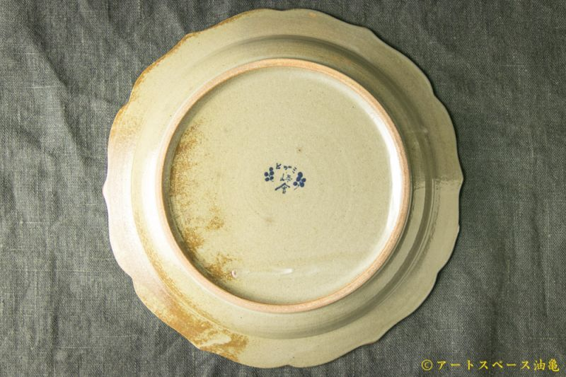 画像5: 三浦圭司「染付 輪花8寸皿 鳥と方位磁針」