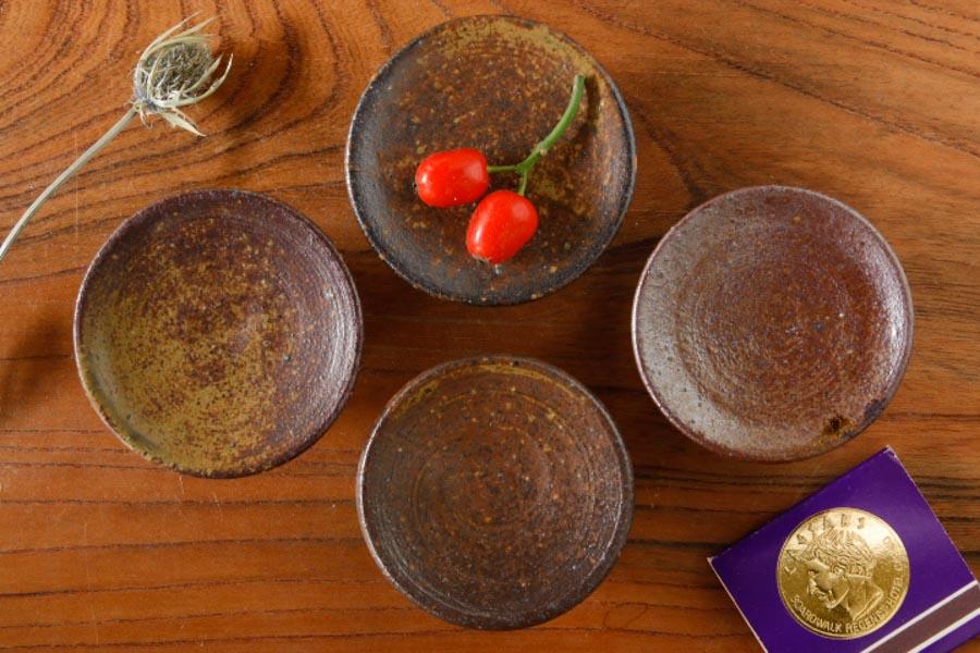 画像1: 水垣千悦「高台 豆皿」