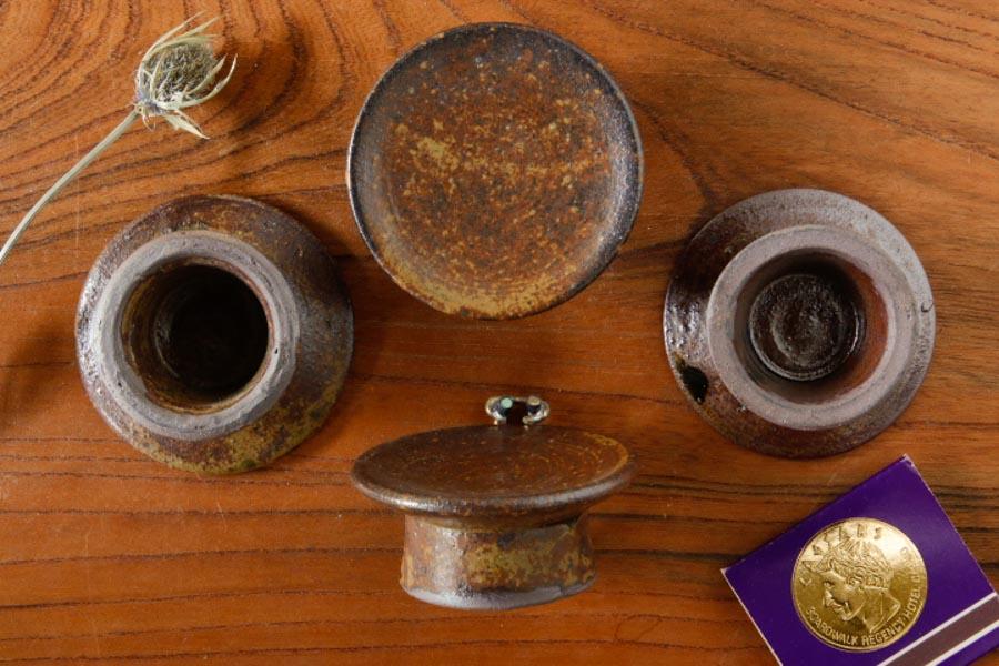 画像2: 水垣千悦「高台 豆皿」