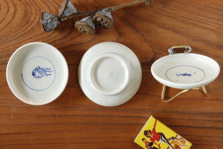 画像3: 水垣千悦「染付 豆皿」
