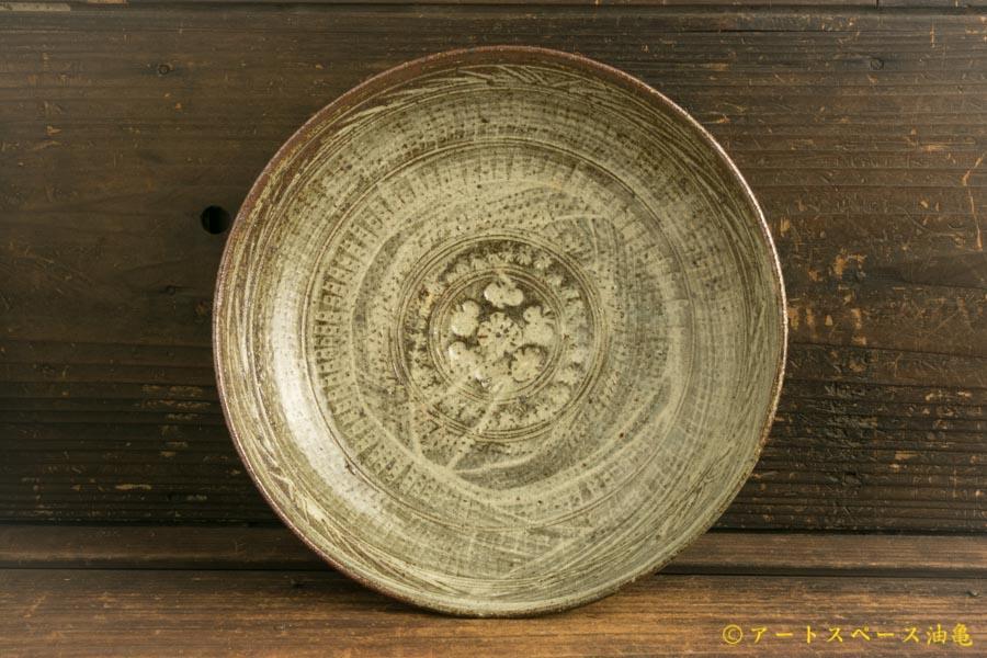 画像1: 水垣千悦「三島 7寸皿」
